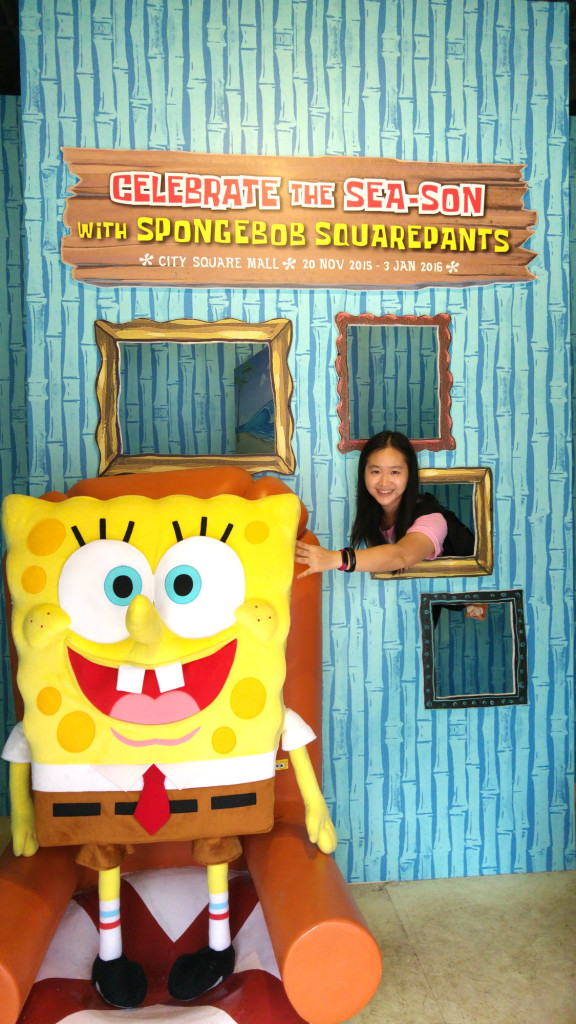 Visit the pineapple house of Spongebob Squarepants this Christmas.