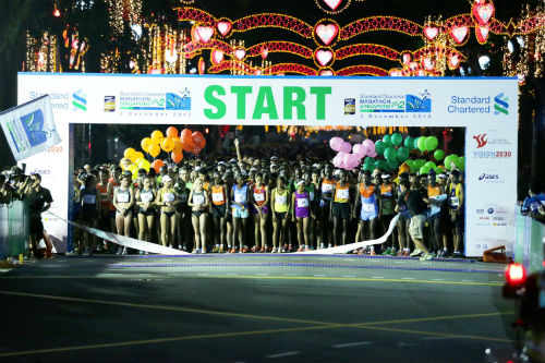 Are you ready to tackle a marathon, like the prestigious StandChart Marathon? (Photo from ssc.gov.sg)
