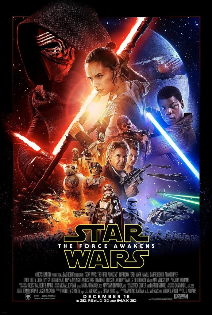 The new hotly-anticipated Star Wars movie will be in cinemas on 18 December.