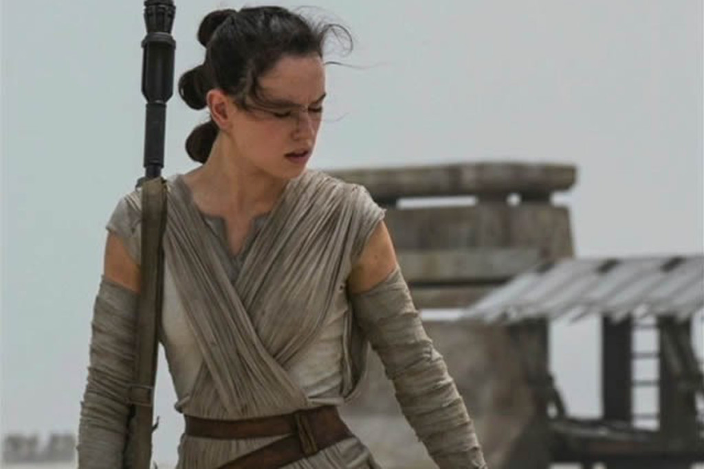 Exactly who is Rey in the new Star Wars movie? [Photo taken from www.hitfix.com]