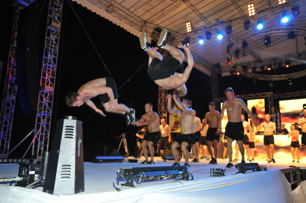 Other performers also strutted their stuff at the Siloso Beach Party! Credit: Sentosa.