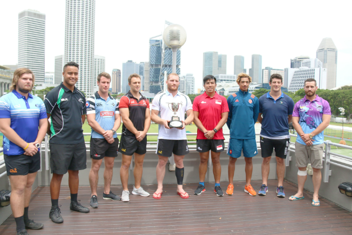 At the press conference for the 2016 SCC 7s. (Photo Credit: Singapore Cricket Club)