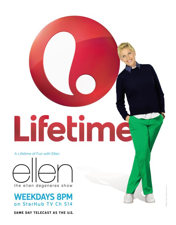 The Ellen Degenres Show is back on Lifetime. (Credit: Lifetime)