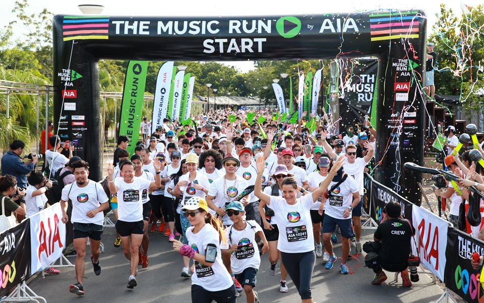 Have a rocking good time with the MUSIC RUN by AIA. [Photo by RunSociety].