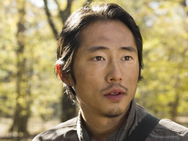 The Walking Dead S5B, Steven Yuen as Glenn Rhee (credit to FOX).