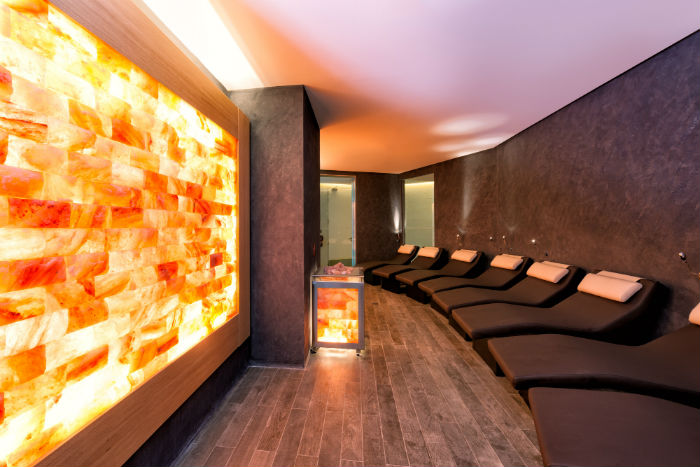 The Salt Room at the Virgin Active gym. (Photo Credit: Virgin Active).