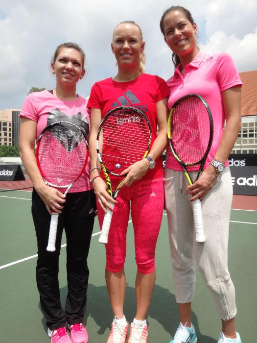Simona Halep, Caroline Wozniaki and Ana Ivanovic are in town.