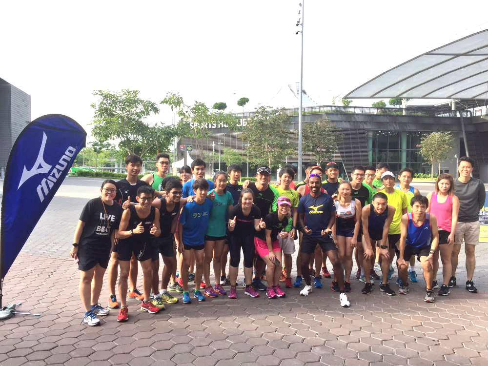 The first running clinic took place today.