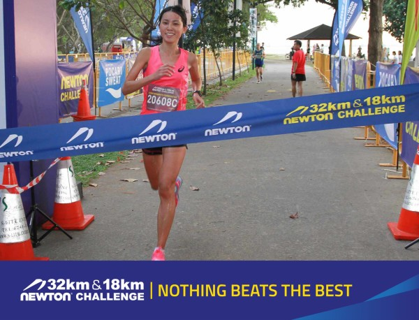 Rachel See winning the 2014 Newton Challenge. Credit: Newton Challenge.