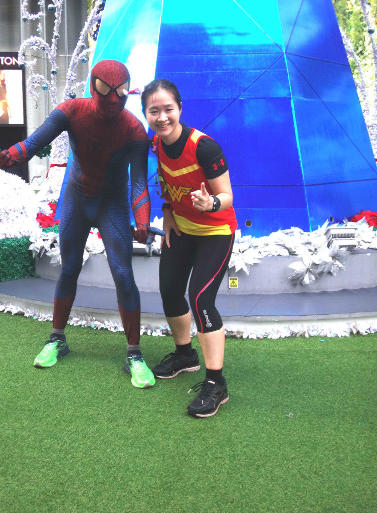 Me and Spidey.