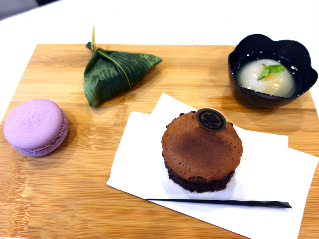 Bloggers were treated to afternoon tea at the media event.