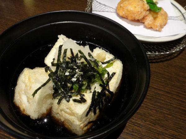 Agedashi Tofu.