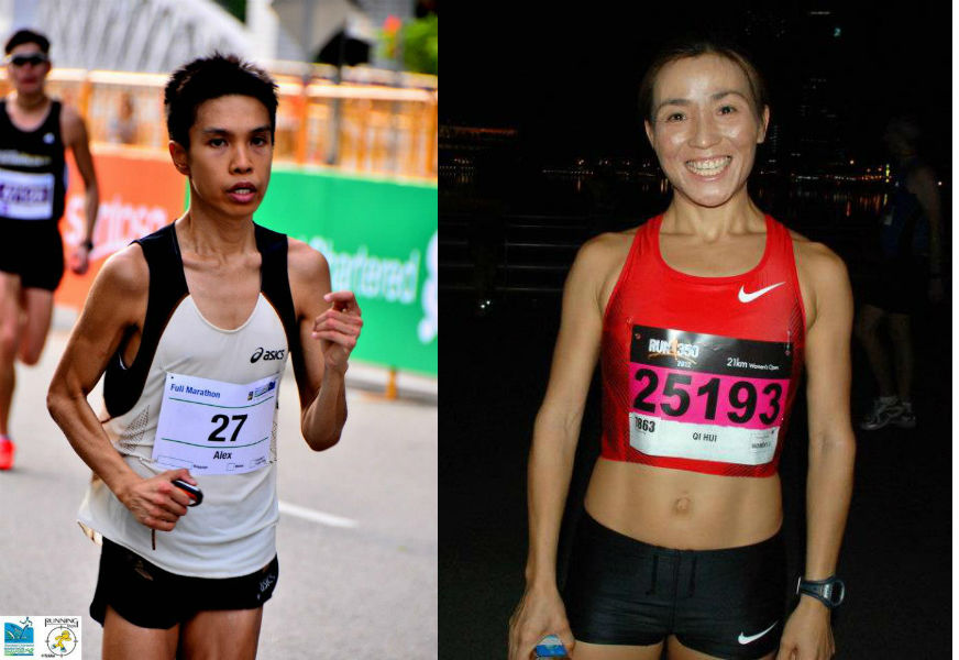 Alex Ong and Anne Qi Hui share their tips with runners preparing for the SCMS.