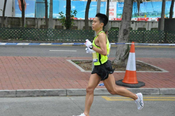 Alex Ong is determined to beat his timing.