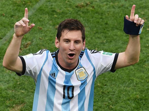 Do Argentina rely too much on Messi? (Image: news.com.au)