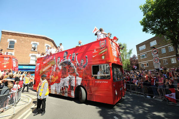 And we are the FA Cup champions. (Image taken from Arsenal FC).