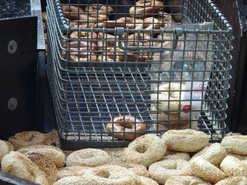 Bagels and more bagels.