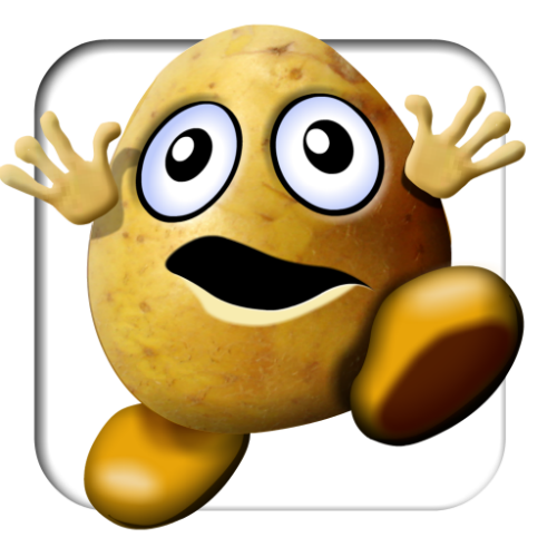 """Be a """"running potato"""", not a """"couch potato."""" Run a marathon."""