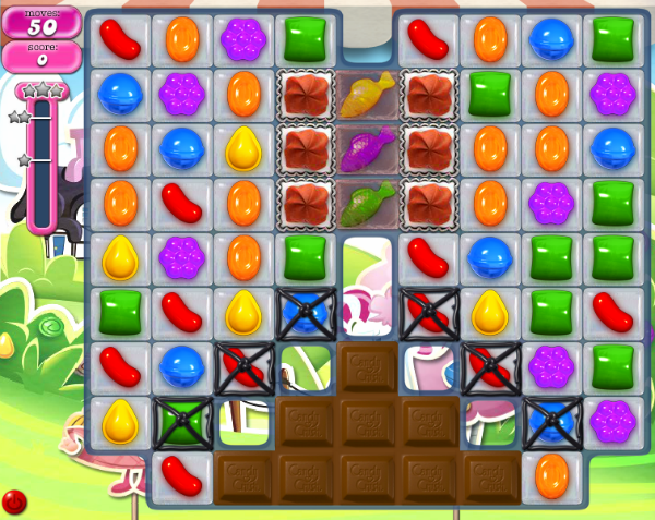 Here's how to beat Level 461 of Candy Crush Saga game. (Taken from candy-crush-saga-wikia.com)