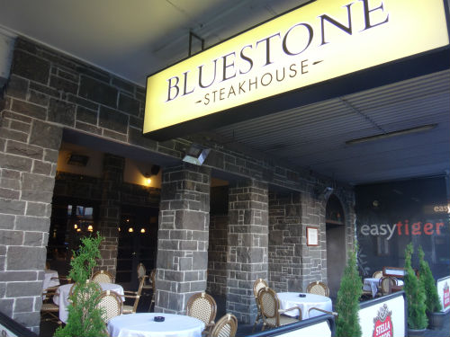 Bluestone Steakhouse in Hamilton, NZ.
