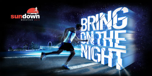 Bring on the Night at Sundown Marathon 2014.