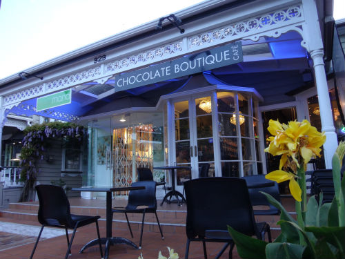 The Chocolate Boutique Cafe in Parnell is chocolate lovers heaven.