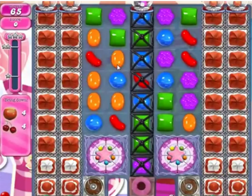 Beat Level 500 of Candy Crush Saga. (Taken from Candy-crush-wikia.com)