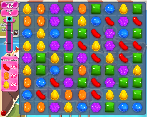 Candy Crush Level 140. (Taken from candy crush saga wiki).