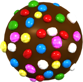Special candies can deal with the Cake Bomb. (From Candy Crush Saga Wikia).