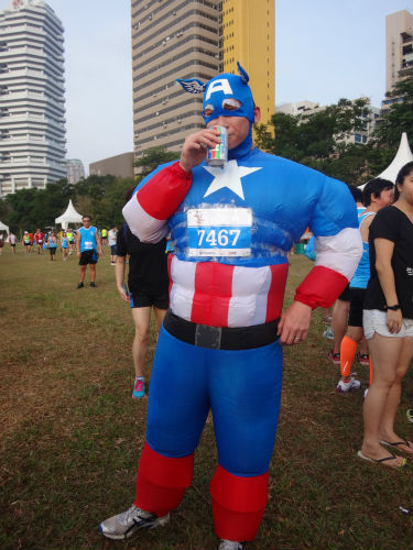 Yes, superheroes sometimes need an energy booster too.