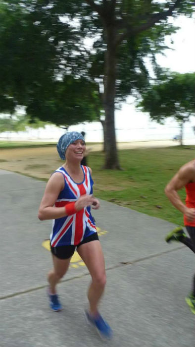 Carol Cunningham, Event Director of parkrun in Singapore, is on the move! (Image: parkrun).