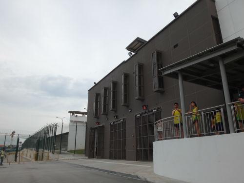 Runners get to explore run through Changi Prison.