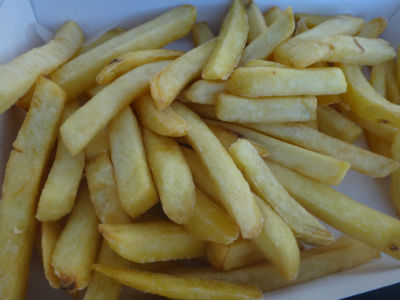 Deliciously hot chips