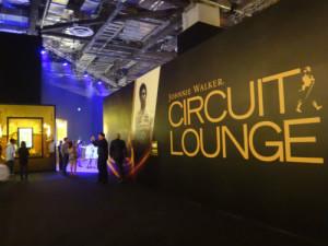 Johnny Walker Circuit Lounge.
