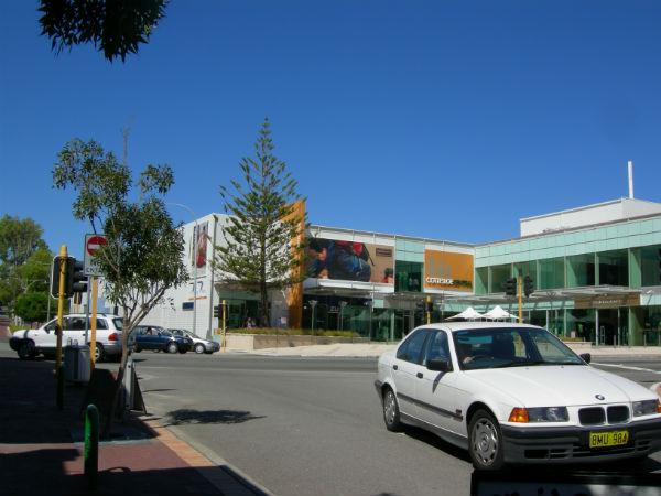 Cottesloe Central: A suburban shopping mall near Perth.