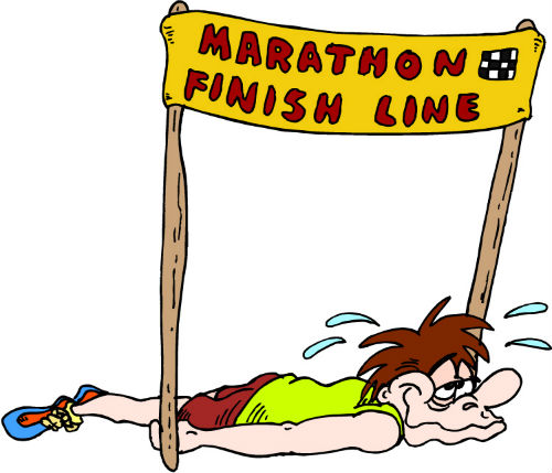 Almost every weekend, somewhere in the world, hundreds of people cross the finish line of a marathon.