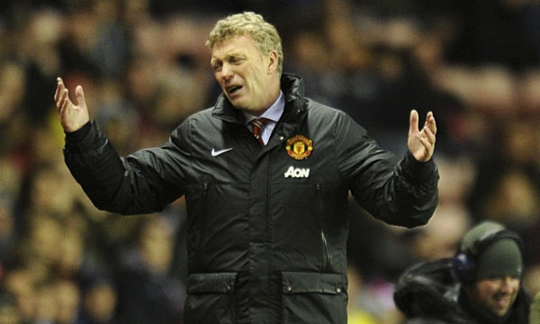 David Moyes has just lost his job at Manchester United. (Image from theguardian.com)