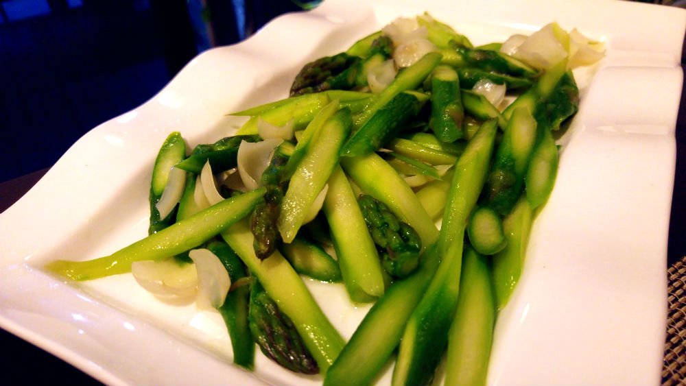 Stir Fried Asparagus.
