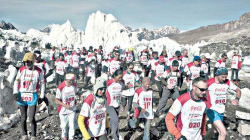 Everest Marathon. (Taken from timesofmalta.com)