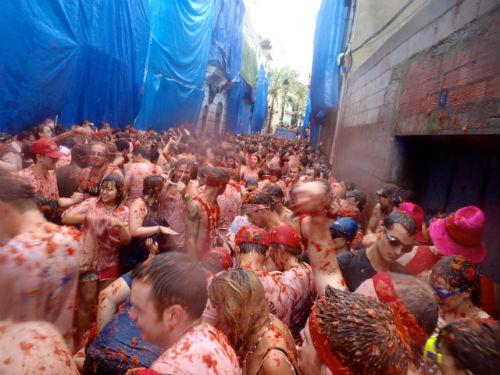Festivities taking place in Europe.