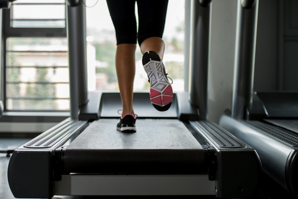 Some runners have been using a treadmill indoors. Photo Credit: www.popsugar.com