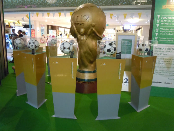 FIFA World Cup 2014 Replica Trophy and Balls