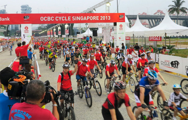 OCBC Cycle Singapore will be held on the last weekend in August. Photo by: cosmone.com