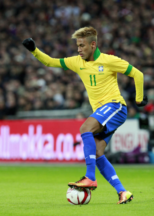 Neymar can't wait to take on Japan. (Image Credit: World Sports Group)