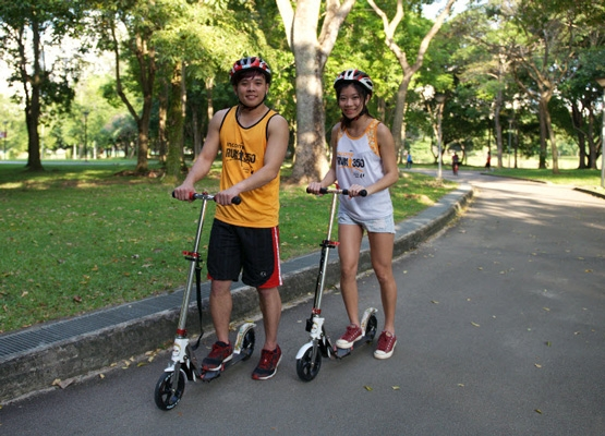 Fun on Wheels is a new category by NTUC Income Run 350. [Photo by Run 350]