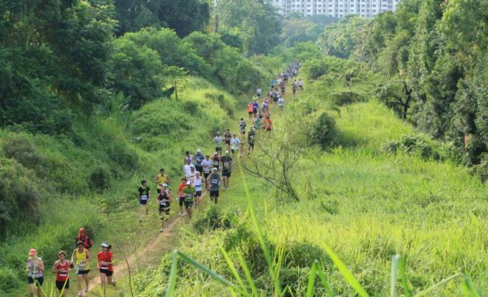 Trail running is a different kettle of fish to road running. [Photo taken from sg.asia-city.com]