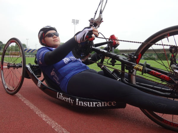 These athletes may be disabled, but they show great promise out there on the track.