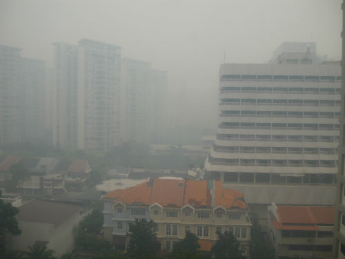 What should we do when the haze threatens our outdoor activity plans?