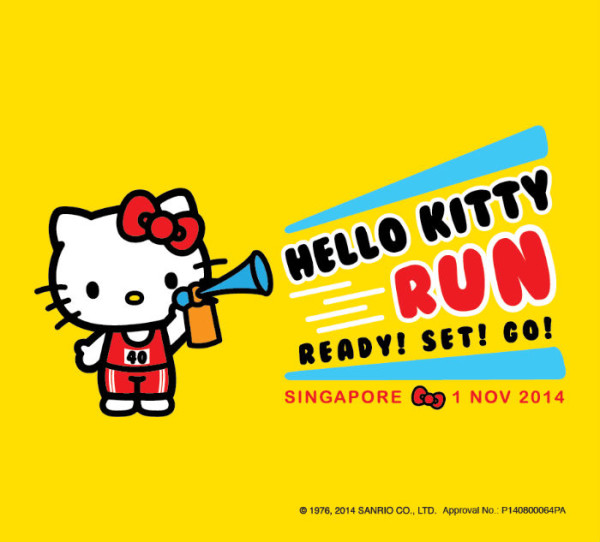 The Hello Kitty Run wil suit fans of the famous feline. [Image credit: Hello Kitty Run SG].