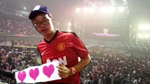 Man United fan, Ong Hong Jie.